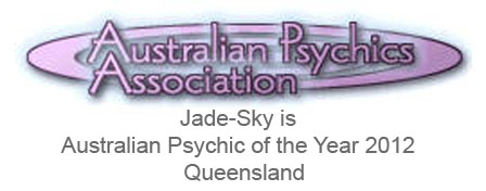 Jade-Sky is Australian Psychic of the Year 2012 – Queensland